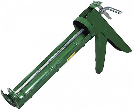 Пистолет для герметика Stayer Standard полукорпусной 310мл 0661 пистолет для герметика stayer 0666 310мл master скелетный усиленный