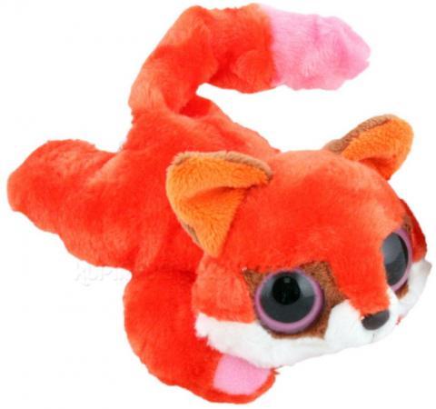 Мягкая игрушка лисица AURORA Юху и друзья лисица лежачая 16 см красный плюш синтепон 16-103 мягкая игрушка aurora юху и друзья малая панда лежачая 23 см фиолетовый плюш