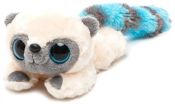 Мягкая игрушка лемур Aurora Юху и друзья Юху лежачий 16 см голубой плюш синтепон aurora мягкая игрушка юху желтый 12см юху и друзья aurora