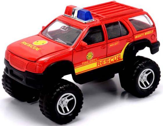 — Mighty Wheels Soma Пожарный 18 см красный машины mighty wheels soma военный перевозчик танк 28 см