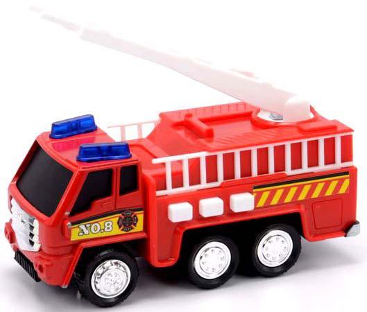 Фото - Машина Mighty Wheels Soma Пожарная 12 см красный со световыми и звуковыми эффектами soma 78058 пожарная машина с лестницей 12 см