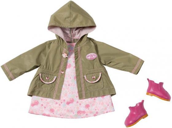 Одежда для кукол Zapf Creation Baby Annabell демисезонная 794616 куклы и одежда для кукол zapf creation baby annabell памперсы 5 штук