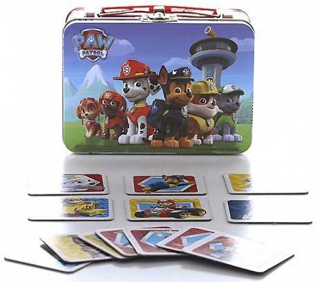 Настольная игра Paw Patrol Щенячий патруль 72 карточки 6028801