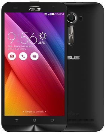Смартфон ASUS Zenfone 2 Laser ZE500KL черный 5 32 Гб LTE Wi-Fi GPS 3G 90AZ00E1-M04720 мобильный телефон lg g flex 2 h959 5 5 13 32 gb 2 gb gps wcdma wifi