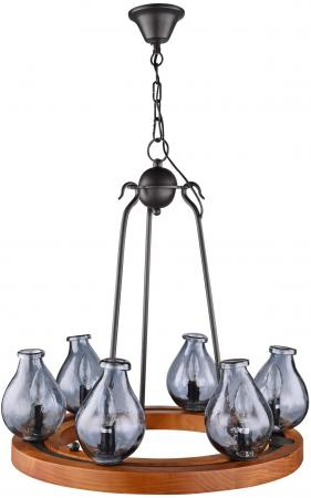 Подвесная люстра Maytoni Flask H100-06-R подвесная люстра maytoni luciano arm587 06 r