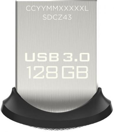 цена на Флешка USB 128Gb SanDisk Ultra Fit SDCZ43-128G-GAM46 черный