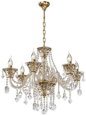 Подвесная люстра Osgona Tesoro 710062 люстра потолочная коллекция tesoro 710062 золото коньячный прозрачный lightstar лайтстар