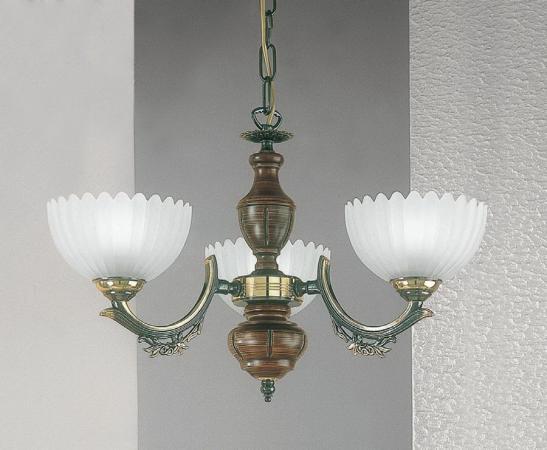 Подвесная люстра Reccagni Angelo L 2805/3 подвесная люстра reccagni angelo bronze 2805 l 2805 3