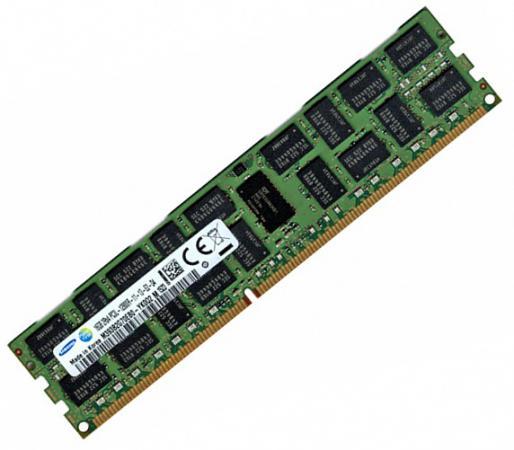 Оперативная память 16Gb PC3-12800 1600MHz DDR3 RDIMM ECC Reg Samsung Original M393B2G70EB0-YK0Q оперативная память 8gb pc3 12800 1600mhz ddr3l dimm ecc reg samsung original m393b1g70eb0 yk0