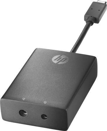 Адаптер HP USB-C to 3 and 4.5mm N2Z65AA адаптер hp display port to usb c n2z65aa
