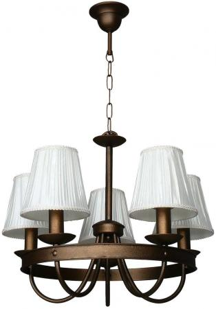 Подвесная люстра Аврора Корсо 10026-5L аврора светильник настольный аврора корсо белый 10027 1n