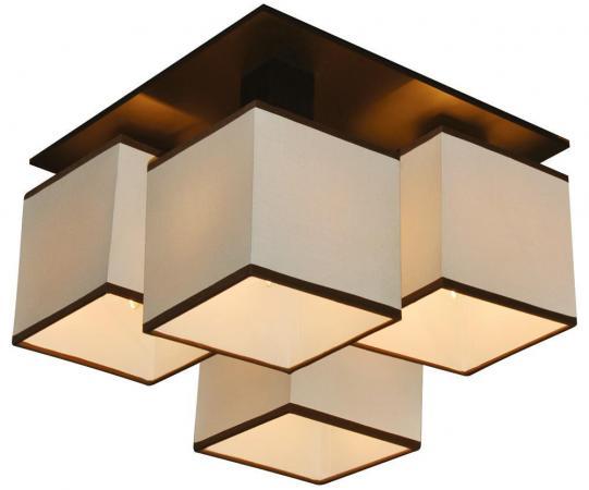 Потолочная люстра Arte Lamp Quadro A4402PL-4BK накладной светильник arte lamp quadro a4402pl 4bk