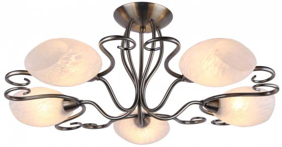 Потолочная люстра Arte Lamp Zetta A6200PL-5AB люстра на штанге arte lamp zetta a6200pl 8ab