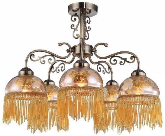 Потолочная люстра Arte Lamp Perlina A9560PL-5AB arte lamp perlina a9560pl 5wg