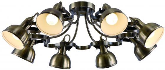 Потолочная люстра Arte Lamp Martin A5216PL-8AB цены