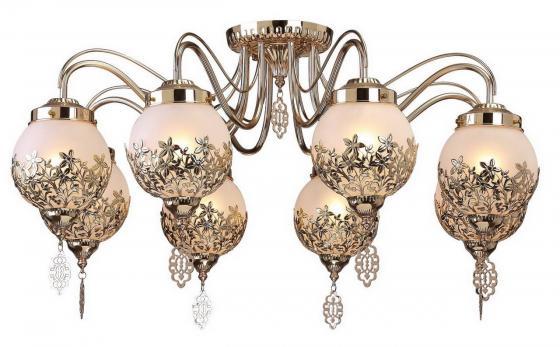 Потолочная люстра Arte Lamp Moroccana A4552PL-8GO arte lamp потолочная люстра arte lamp moroccana a4552pl 5go