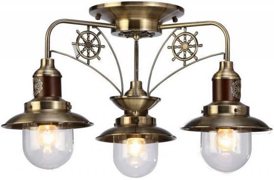 Потолочная люстра Arte Lamp Sailor A4524PL-3AB цена и фото