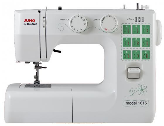 Швейная машина Janome Juno 1615 белый цена