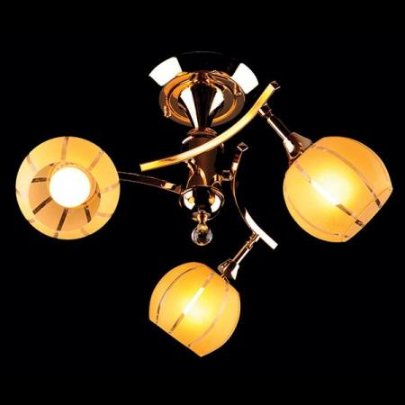 Потолочная люстра Eurosvet 3353/3 золото/желтый eurosvet потолочная люстра eurosvet 3353 3н золото коричневый