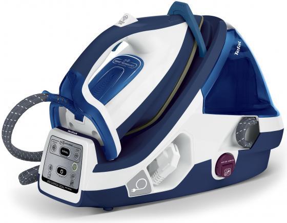 Парогенератор Tefal GV8962E0 2200Вт синий белый