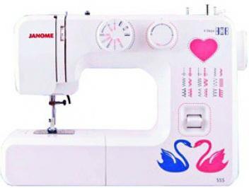 Швейная машина Janome 555 белый все цены