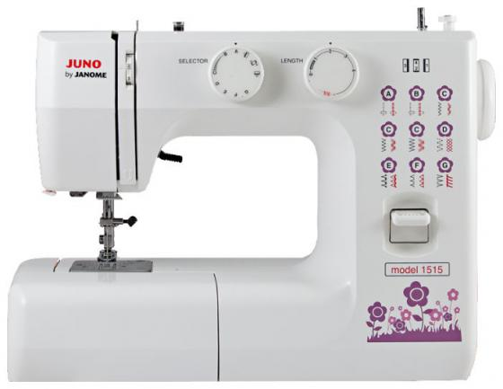 Швейная машина Janome Juno 1515 белый janome juno 1515