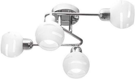 Потолочная люстра IDLamp Agostina 361/4A-Whitechrome idlamp светильник потолочный 818 8pf whitechrome