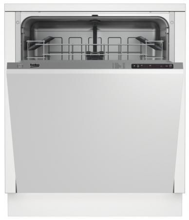 Посудомоечная машина Beko DIN 15210 белый встраиваемая посудомоечная машина beko din 15210