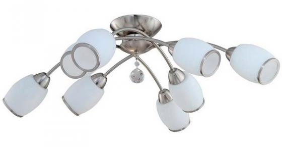Потолочная люстра IDLamp Nikolina 804/8PF-Whitechrome idlamp светильник потолочный 804 8pf whitechrome