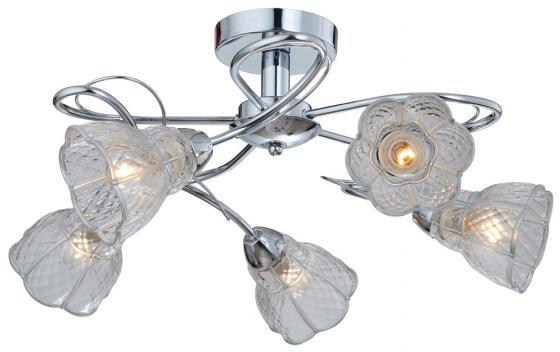 Потолочная люстра IDLamp Clairette 866/5PF-Chrome idlamp люстра потолочная clairette