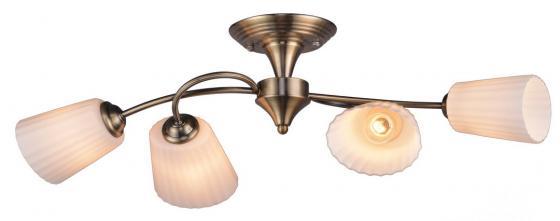 Потолочная люстра IDLamp Dorothea 879/4PF-Oldbronze idlamp потолочная люстра idlamp dorothea 879 4pf oldbronze