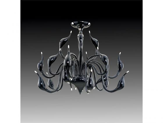 Потолочная люстра Lightstar Cigno Collo Bk 751187 цена