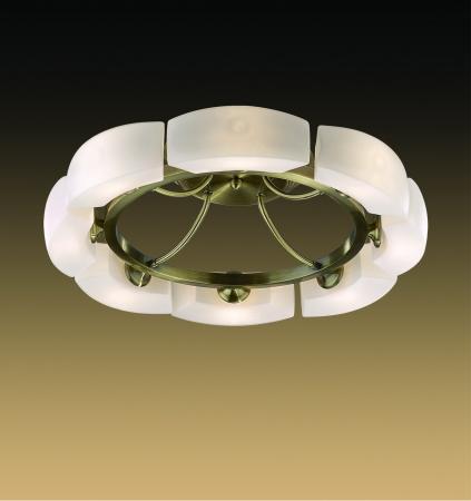 Потолочная люстра Odeon Barca 1713/8C odeon light потолочная люстра odeon light barca 1713 8c