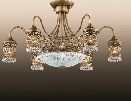 Потолочная люстра Odeon Salona 2641/9C потолочная люстра odeon light salona 2641 9c