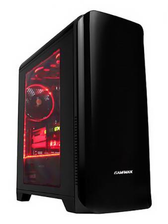 цена на Корпус microATX GameMax H602BK Без БП чёрный