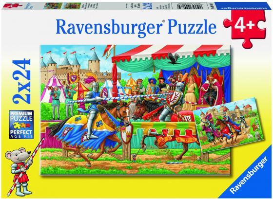 Пазл 48 элементов Ravensburger Рыцари 09083 ravensburger пазл 2 в 1 стройплощадка 48 деталей