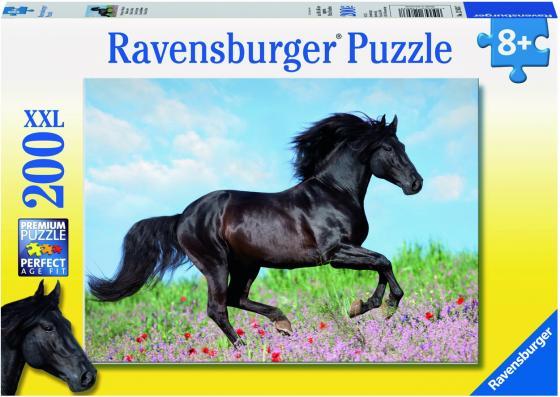 Пазл 200 элементов Ravensburger Прекрасная лошадь 12803 пазл мемори софия прекрасная ravensburger