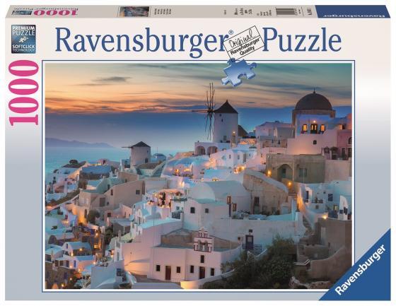 Пазл 1000 элементов Ravensburger Вечерний Санторини пазл ravensburger озеро эйб 1000 элементов