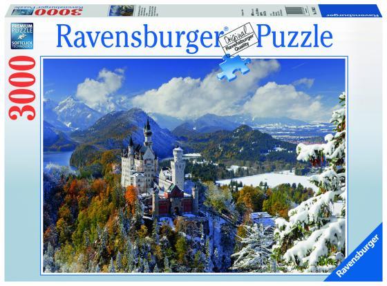 Пазл 3000 элементов Ravensburger «Замок Нойшванштайн зимой» пазл ravensburger сейшелы 1500 элементов