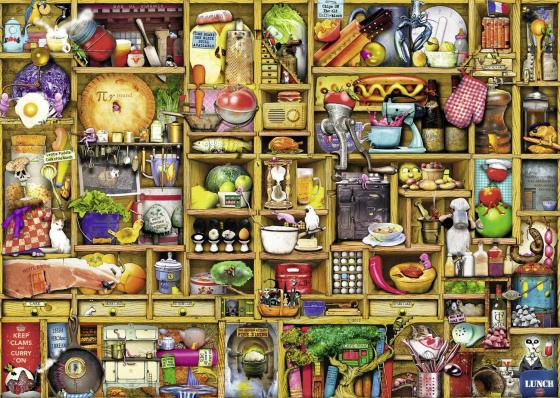 Пазл 1000 элементов Ravensburger «Кухонный шкаф»