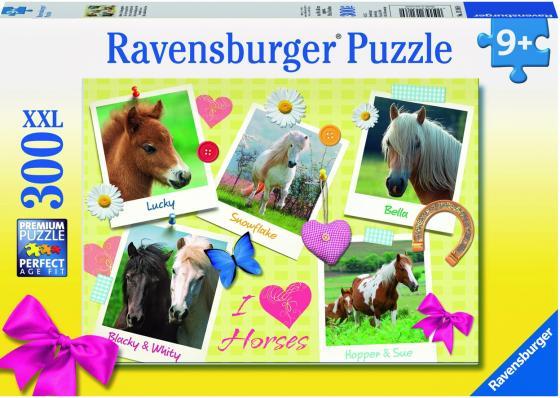 Пазл 300 элементов Ravensburger Мои любимые лошади 13186