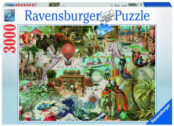 Пазл 3000 элементов Ravensburger «Океания» пазл ravensburger озеро эйб 1000 элементов