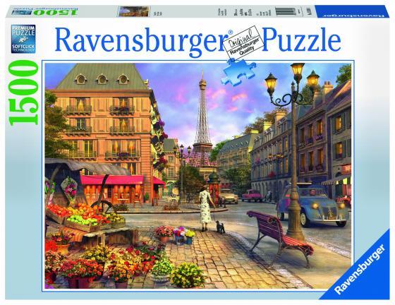 Пазл 1500 элементов Ravensburger «Старый Париж»