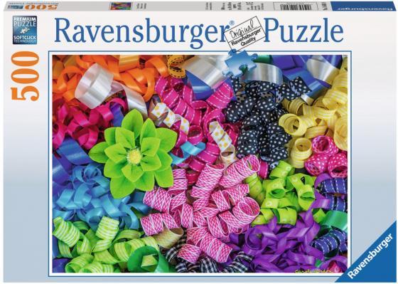 Пазл 500 элементов Ravensburger Цветные ленты 14691 ravensburger пазл цветные ленты 500 деталей
