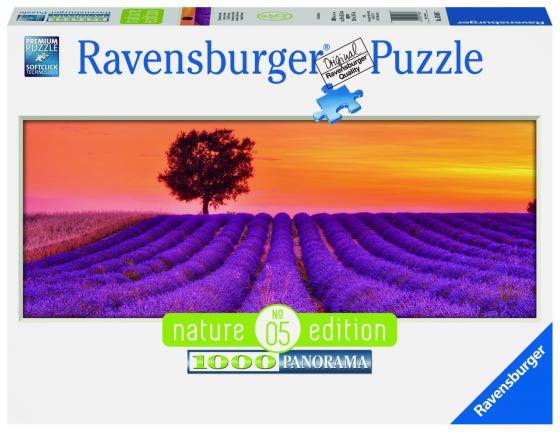 Пазл 1000 элементов Ravensburger Лавандовые поля