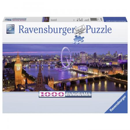 Пазл 1000 элементов Ravensburger Ночной Лондон 1000 дет лондон