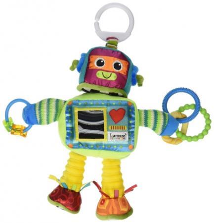 Развивающая подвесная игрушка Lamaze Робот Расти lamaze развивающая игрушка музыкальная корова lc27560