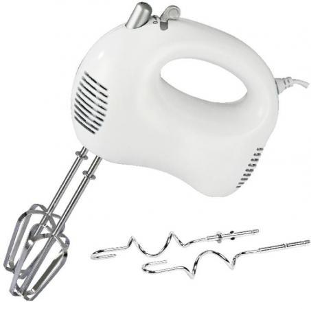 Миксер ручной Zimber ZM-11160 200 Вт белый  миксер ручной zimber zm 11093 100 вт белый серый