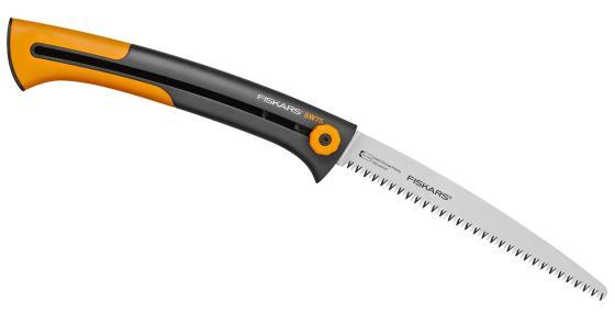 цена на Пила садовая Fiskars Xtract SW75 черный/оранжевый 123880