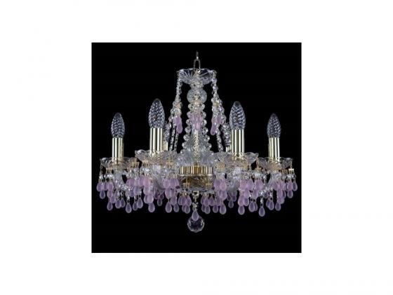 Подвесная люстра Bohemia Ivele 1410/6/160/G/V7010 подвесная люстра bohemia ivele crystal 1410 6 160 g v7010 sh1